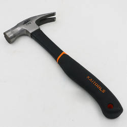 Multifunction Durable Claw Hammer with Black Rubber Handle