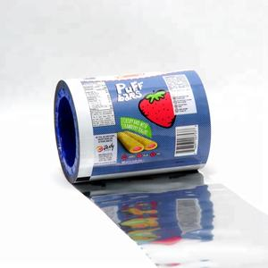 Eco Friendly Product Laminated Food Packaging Film Plastic Bag In Roll