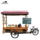 street vending carts electric food cart coffee bike for sale