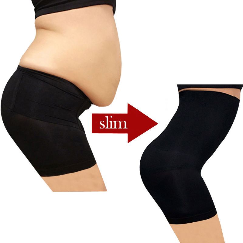 Dropshipping Plus Size Underwear High Waist Women's Control Pants Body Shaper Seamless Slimming Pants