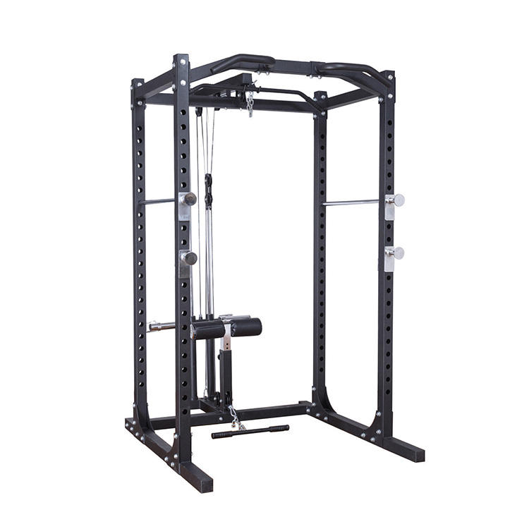 Heavy duty commercial multi gym power tower rack cage squat