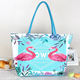 azo free 6P free low cadium low lead floral outdoor summer beach beach bag