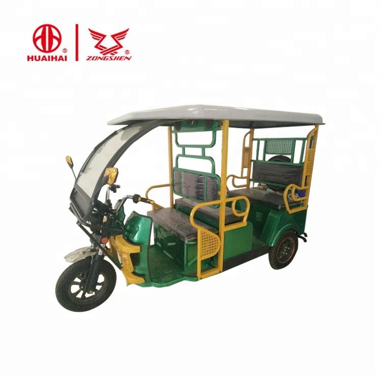 2018 New Model 6 Seater Electric Auto Rickshaw In Bangladesh Tricycle Passenger Tuk Tuk Taxi For Sale