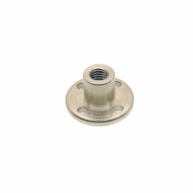 ChiHai Motor High Hardness Metal Threaded hole flange coupling Rigid Flange Coupling Motor Guide Shaft Axis DIY Model