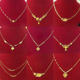 2020 gold plated imitation jewellery, xuping 24k gold jewelry hot sale new design dubai women's fashion chain necklaces