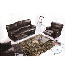 American Style Regional Style And No Inflatable Leather Recliner Sofa