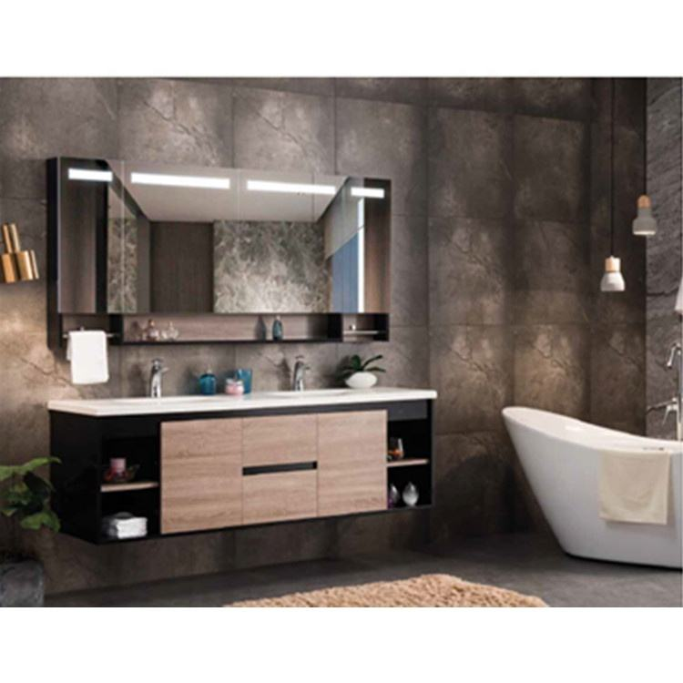 Chaozhou Water Resistant Hotel Pakistan 30 Inch Single Sink Modern Luxury Wall Mount Floating Cabinet Bathroom Vanity