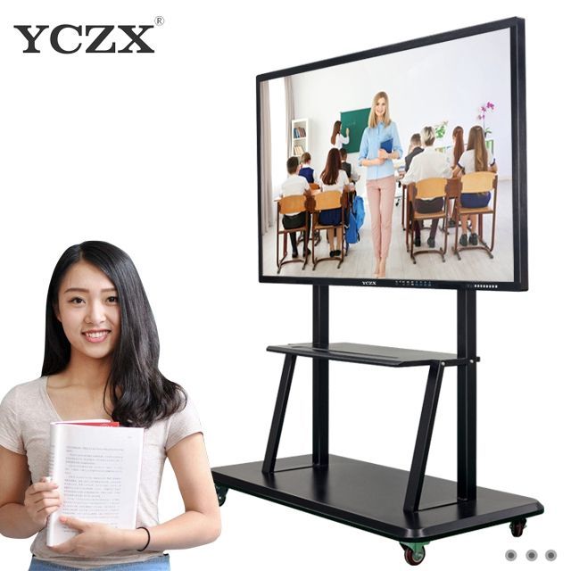 "Factory Price!!55"" multi touch electronic IR unfolded interactive whiteboard/smart board with no projector"