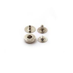 High Quality Metal Fastener Snap Button for Garments Handbags
