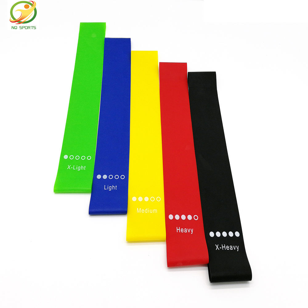 Exercise Bands Resistance New Product China Supplier Fitness Set High Quality Yoga Resistance Band/Custom Resistance Exercise Band Loop 5 Level