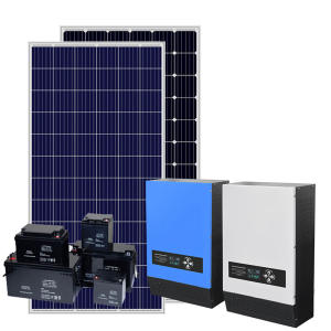 Komplette set off grid solar power system 1kw 3kw 5kw solar system auf grid solar energy kit