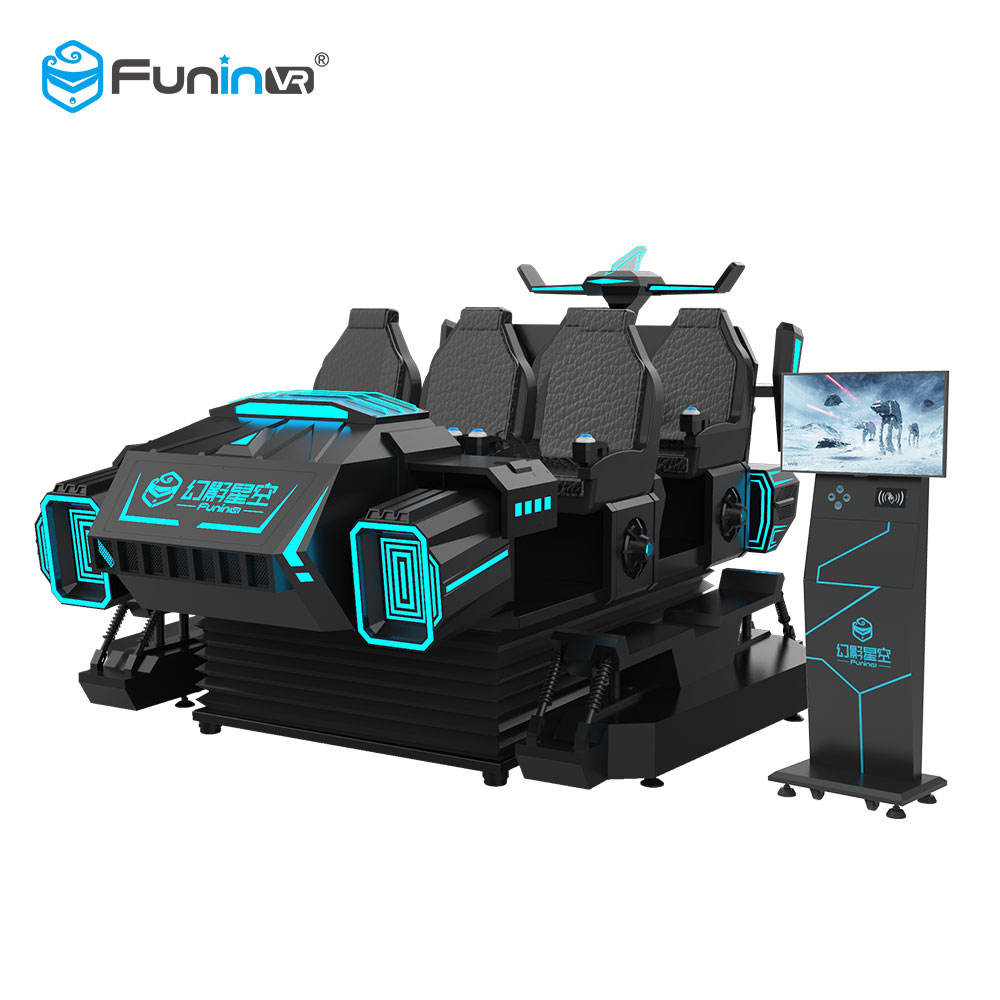 Funin VR 9D Used Roller Coaster Amusement Park Rides Equipment
