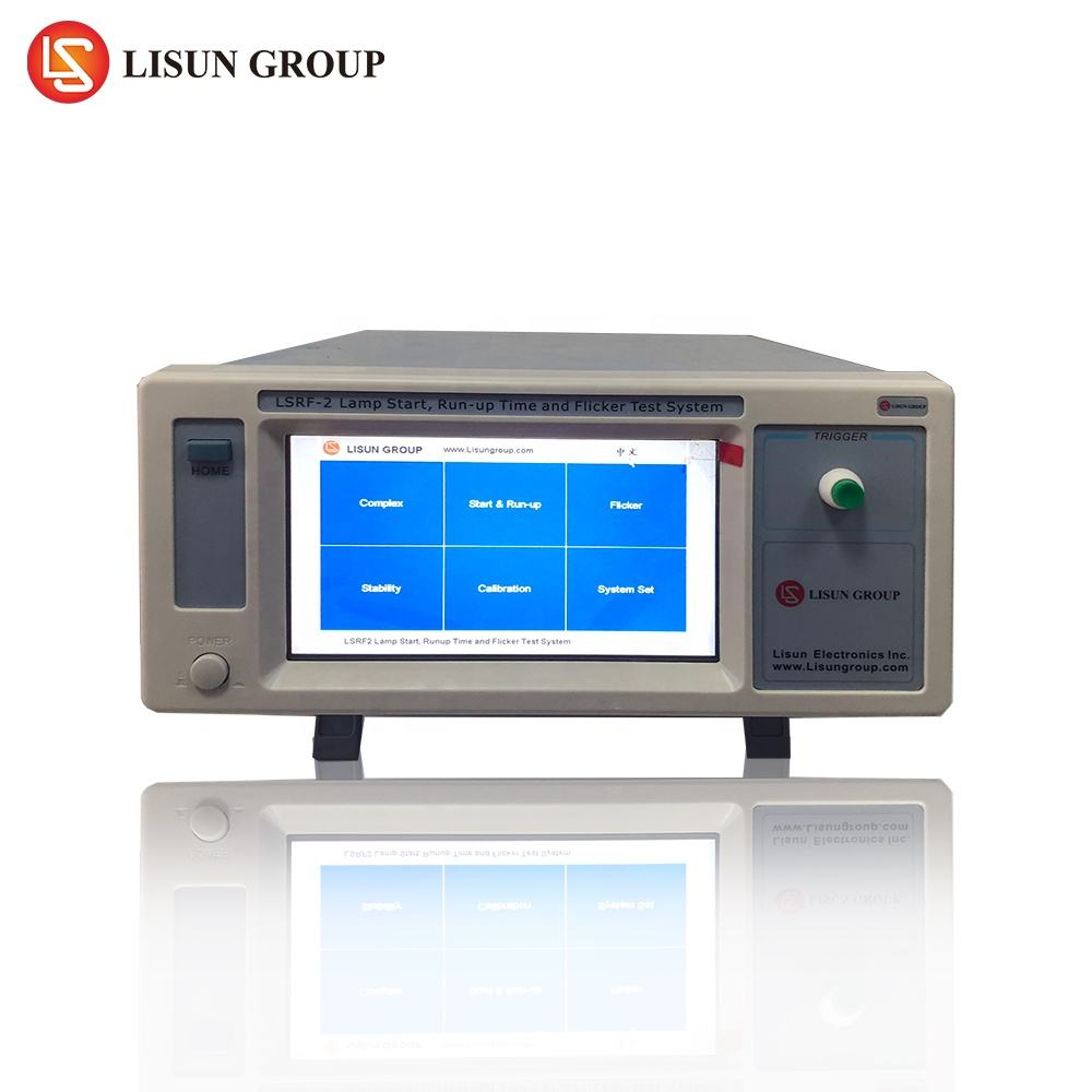 Lisun PH3000 flicker meter working with integrating sphere together also can measure lamp start and run up time