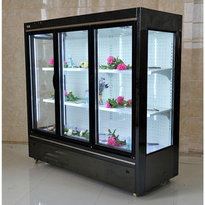 High Quality Super Market Flower display cooler refrigerator Fresh Keeping refrigeration