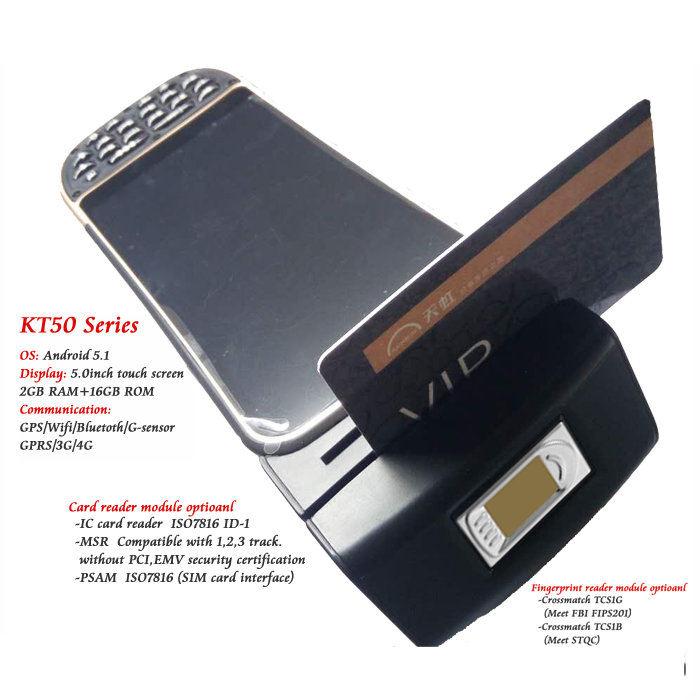 Portatile Mobile Qr Code Scanner <span class=keywords><strong>di</strong></span> Codici A Barre <span class=keywords><strong>Pos</strong></span> Terminale con Intergrated 58mm Stampante Termica per Biglietti