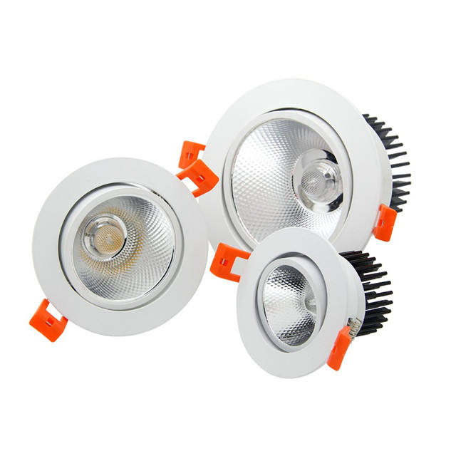Dimmable שקוע Led תקרה למטה אור 5W 7W 9W 12W 15W 18W 20W COB Led <span class=keywords><strong>Downlight</strong></span>