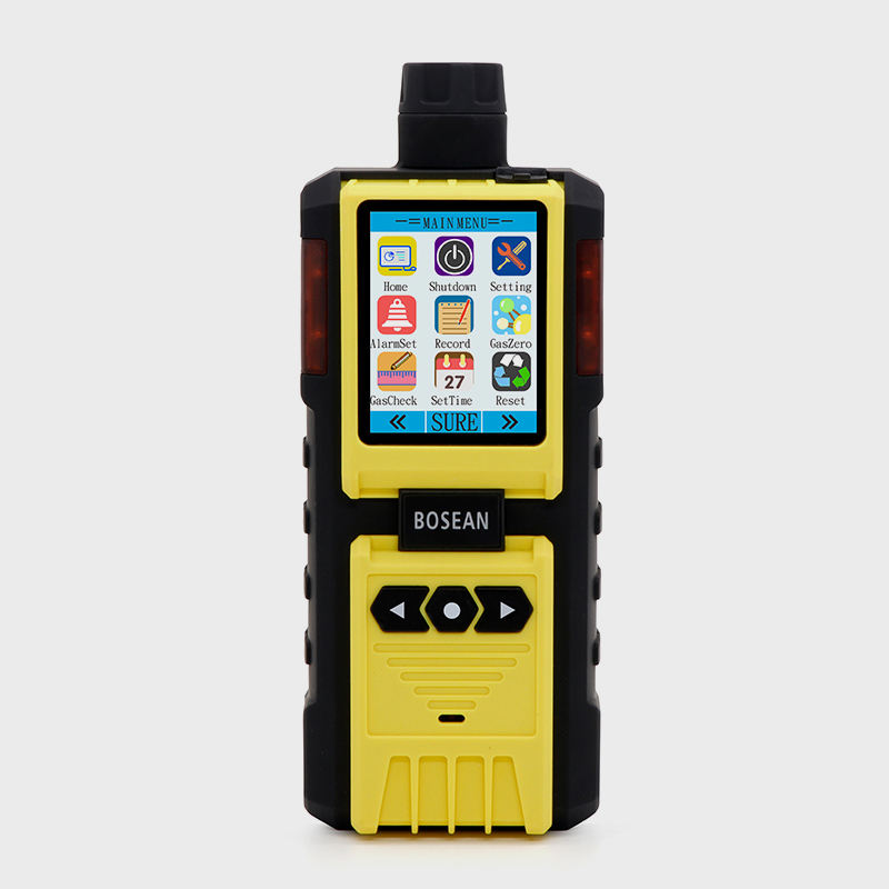 HC Co CO2 O2 Sox NOx Auto Gas Analyzer Chlorine Analyzer Sulfur Dioksida Portabel Metanol Detektor Gas dengan Pump 5 gas Analyzer