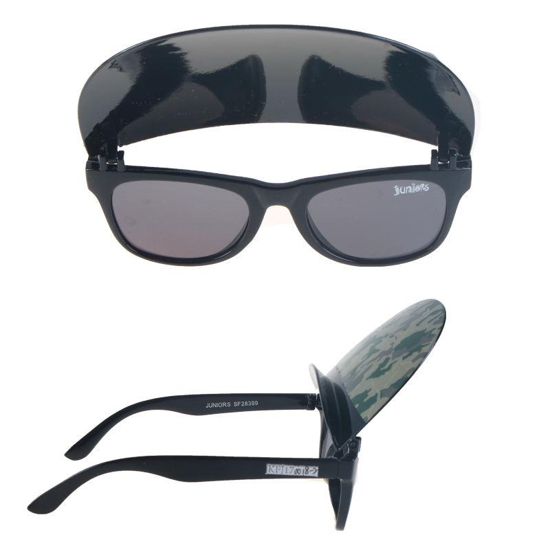 YJ العلامة التجارية أنماط جديدة من الأطفال مع كاب النظارات الشمسية حماية من الشمس صبي و فتاة النظارات الشمسية