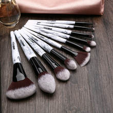 10pcs Nylon Hair Professional Cosmetic Brush Set
