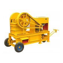 Parker Mobile Pe 150X250 Gypsum Jaw Crusher Crashing Plant