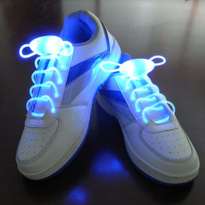 Luminous Shoelaces Switchable LED Light Up Shoestring Glowing Shoe Laces Novelty Party Dress Decor