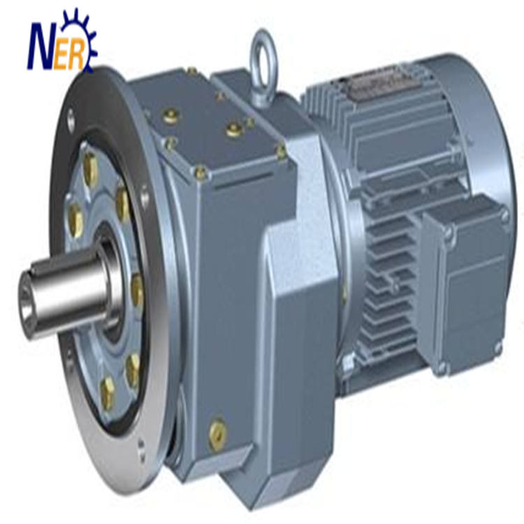 Energy saving Chinese R type gear speed reducer R87 with explosion-proof motor 1.1KW