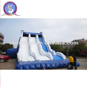 commercial use inflatable water slide for adult