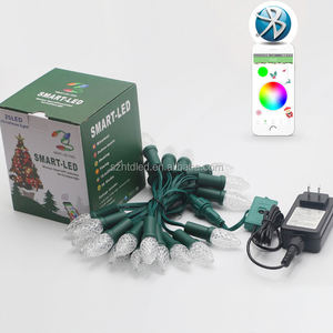 Outdoor voll farbe F8 LED RGB Weihnachten ws2811 IC address pixel licht
