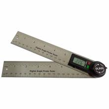 #DL600 Dimensional Angle measuring instruments 7 inch 20 cm length slide rule electric protractor digital angle finder Gauge