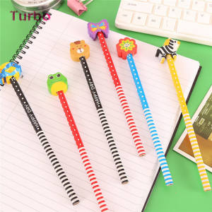 Good quality low price new office and school supplies wholesale standard size pencil colorful wooden hb pencil