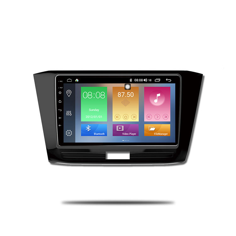 IOKONE 10.1 Inch 2 Din Android 9.0 Car Multimedia DVD Player With Carplay For VW Passat