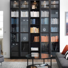 Simple Design Italy Style Full Set Solid Wood Book Shelf sapiens Bookcase