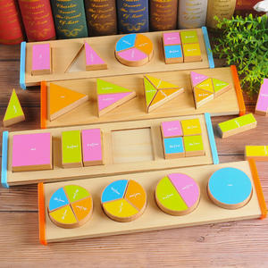 Wooden Puzzle Toddler Toys Shapes Sorter and Matching Wood Montessori Color Math Shapes Geometric Puzzles