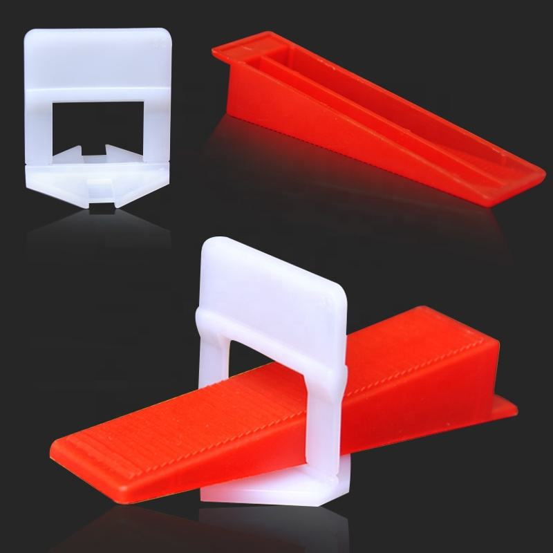 Plastic tile leveling system / clips and wedges ceramic tile leveling /install tools tile leveling system spacer