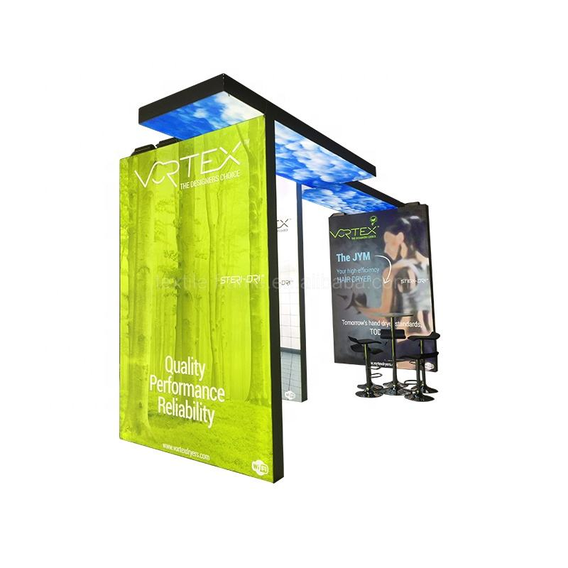 Exhibition booth trade show display stand for fairs