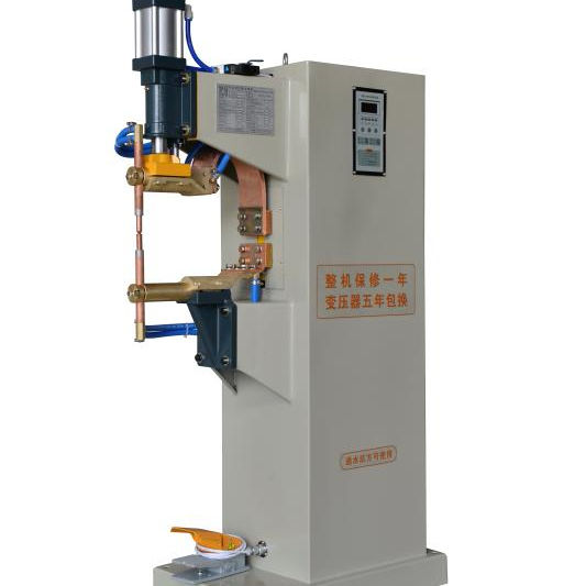 Automatic pneumatic spot welding machine