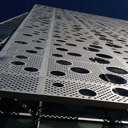 Modern Building Decorative Aluminium Laser Cutting Exterior Facade