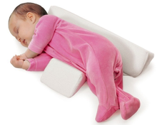 Baby Side Sleeper Crib Wedge Nursing With Memory Foam Pillow And Positioner pillow