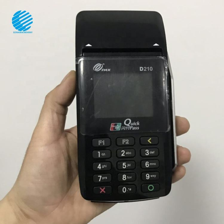 NEW/USED POS machine D210 Handheld GPRS mobile secure pax with carder read ticket printing machine
