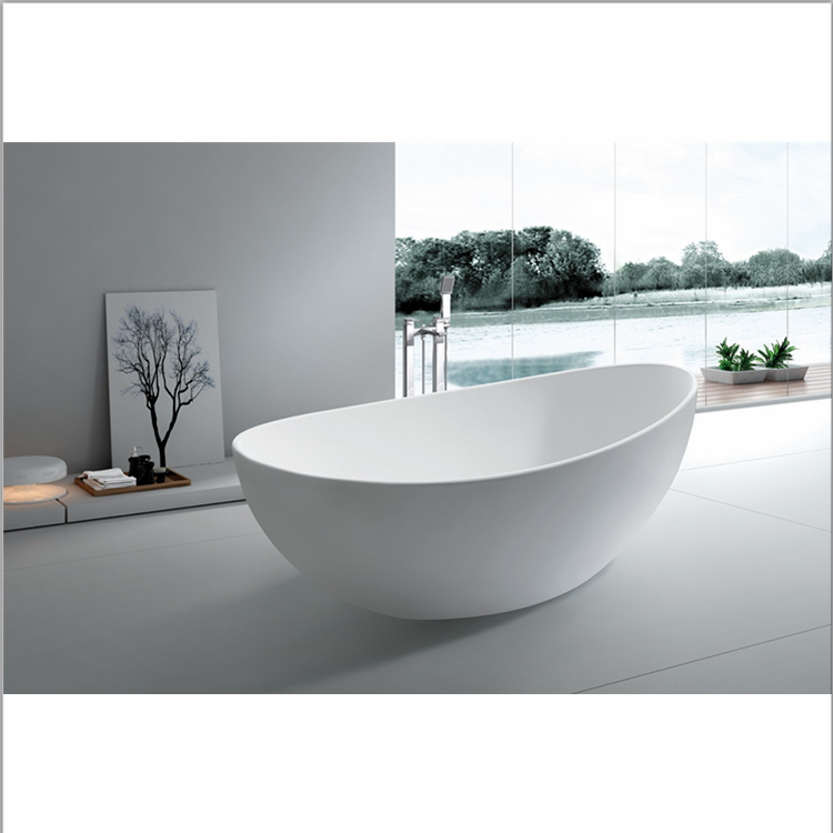 2019 Bath Tub Prices Acrylic Freestanding indoor white Soaking portable bathtub for adults