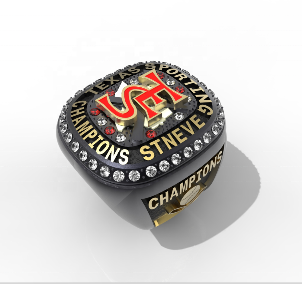 design your own sports baseball championship ring