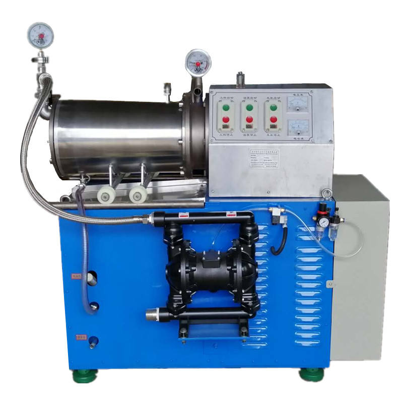 Horizontal bead mill for paint lab small grinding machines stainless steel sand mill machine