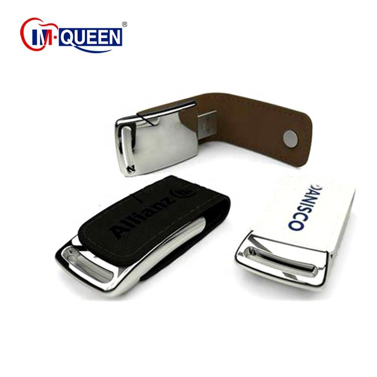 Factory price Leather usb flash drive flash memory / leather usb stick 8gb 16gb accept express