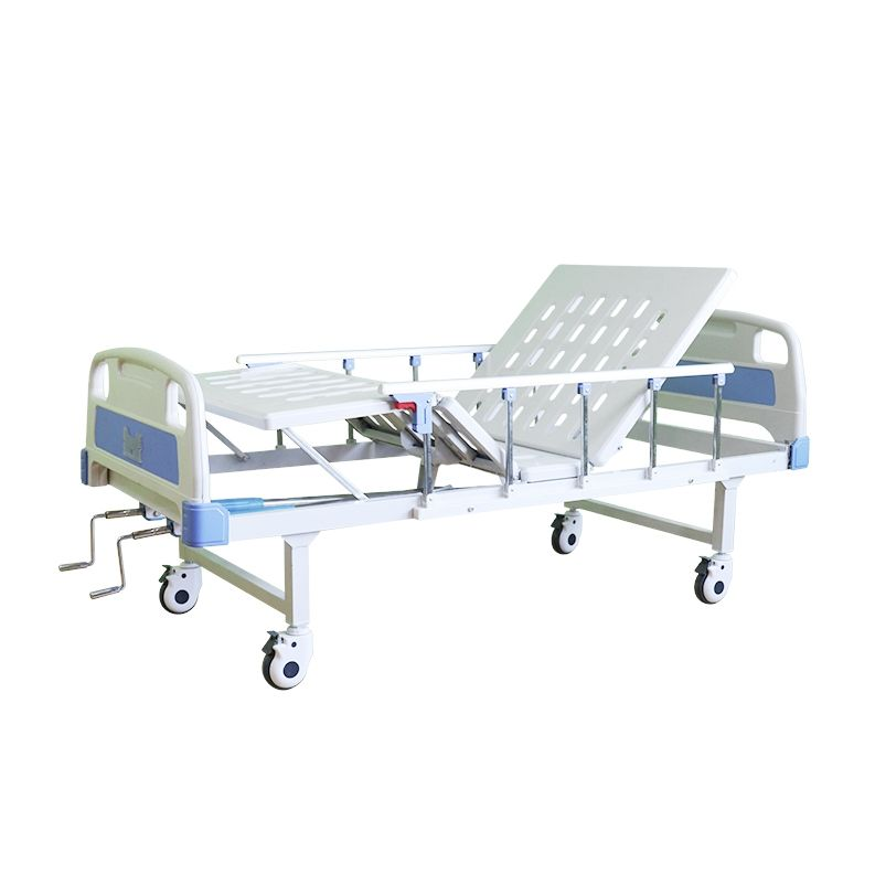 2 Crank Hospital Bed Cheap Price Medical Metal patient Hospital Bed