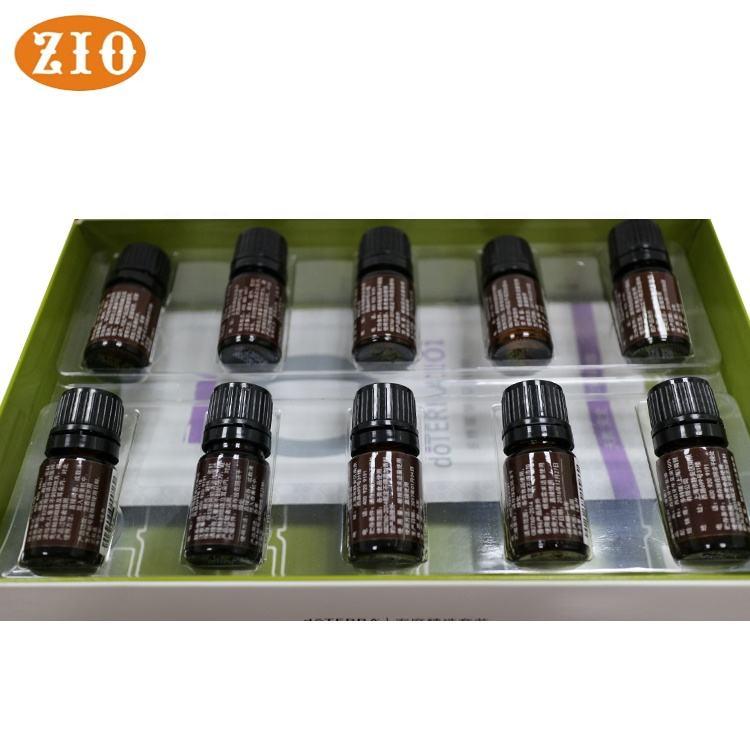 Сделано в Китае 10 мл пластиковая бутылка oem герани эфирное масло для массажа кожи