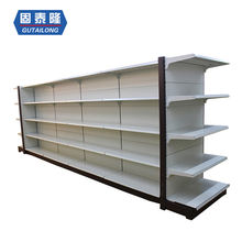 2020 hot sales of flat back panel supermarket shelf supermarket advertising display racks