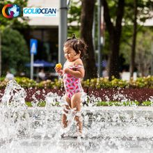 Hot Sale FREE Design Outdoor Amusement Park Programmable Children Playing Dry Floor Water Fountain