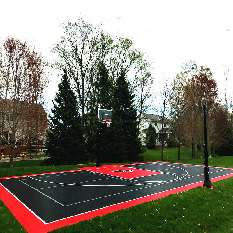 China factory directly modular used portable sports outdoor flooring for basketball tennis court