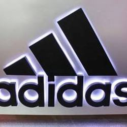 Manufacturer Custom Adidas Durable Good-looking Acrylic Lighted Address Sign