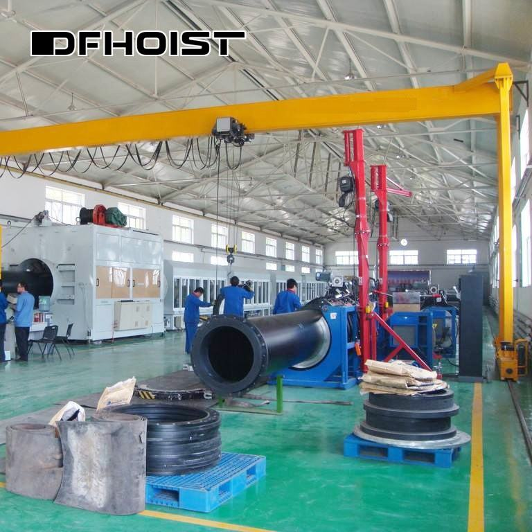 Lowest price single girder electric overhead gantry crane 8 ton single girder gantry crane